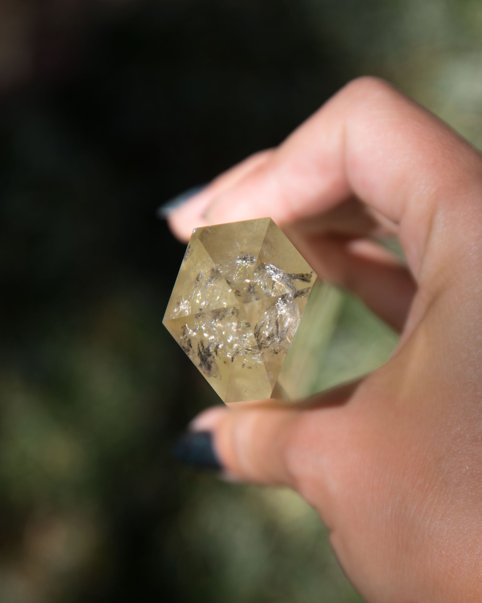 Natural Citrine Wand A