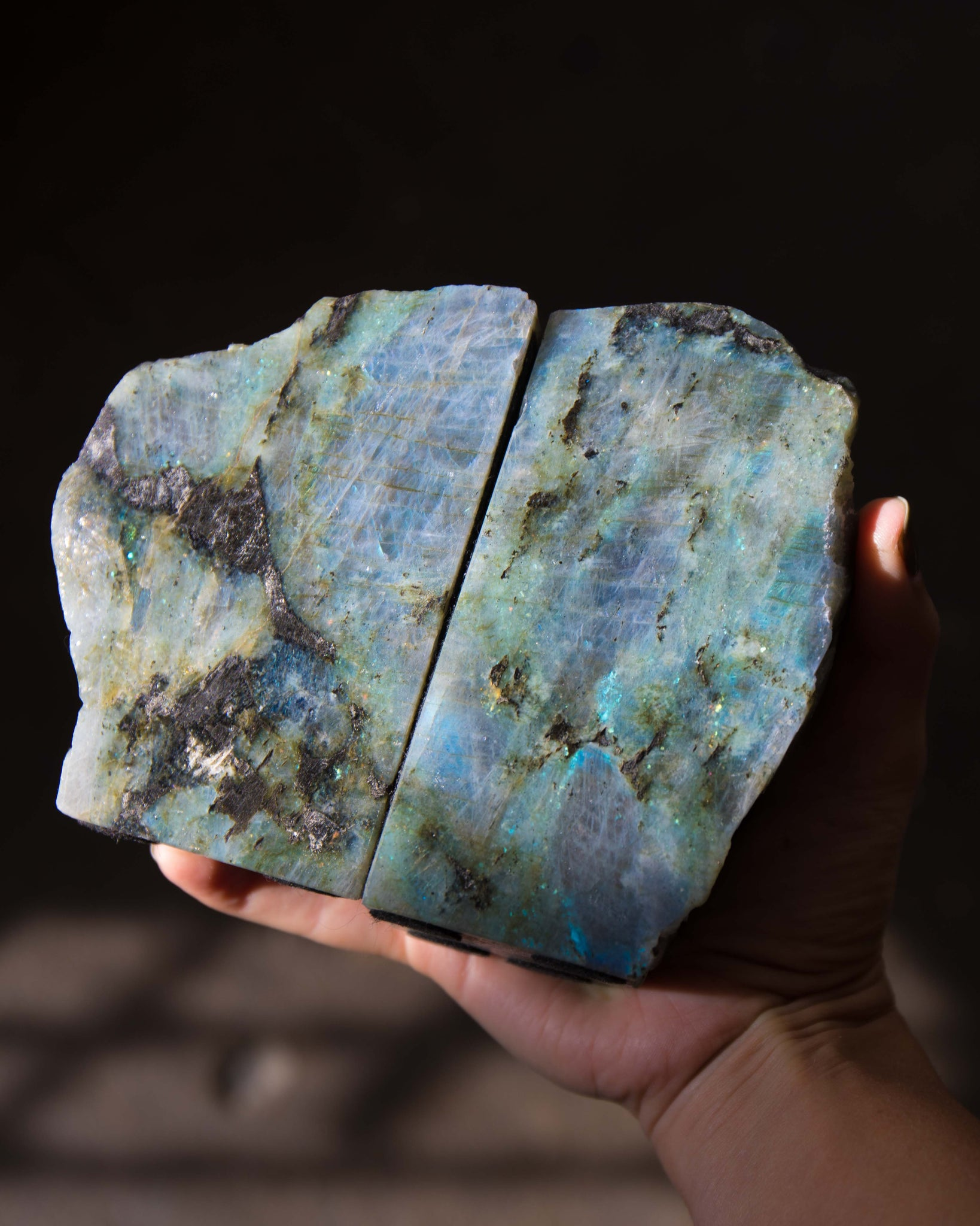 Labradorite Bookend - Set 1