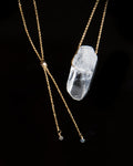 Clear Quartz Necklace - Large (PRE-ORDER)
