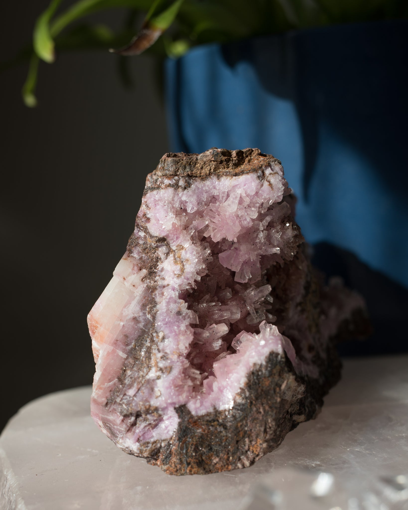 Raw Cobalt Calcite - B