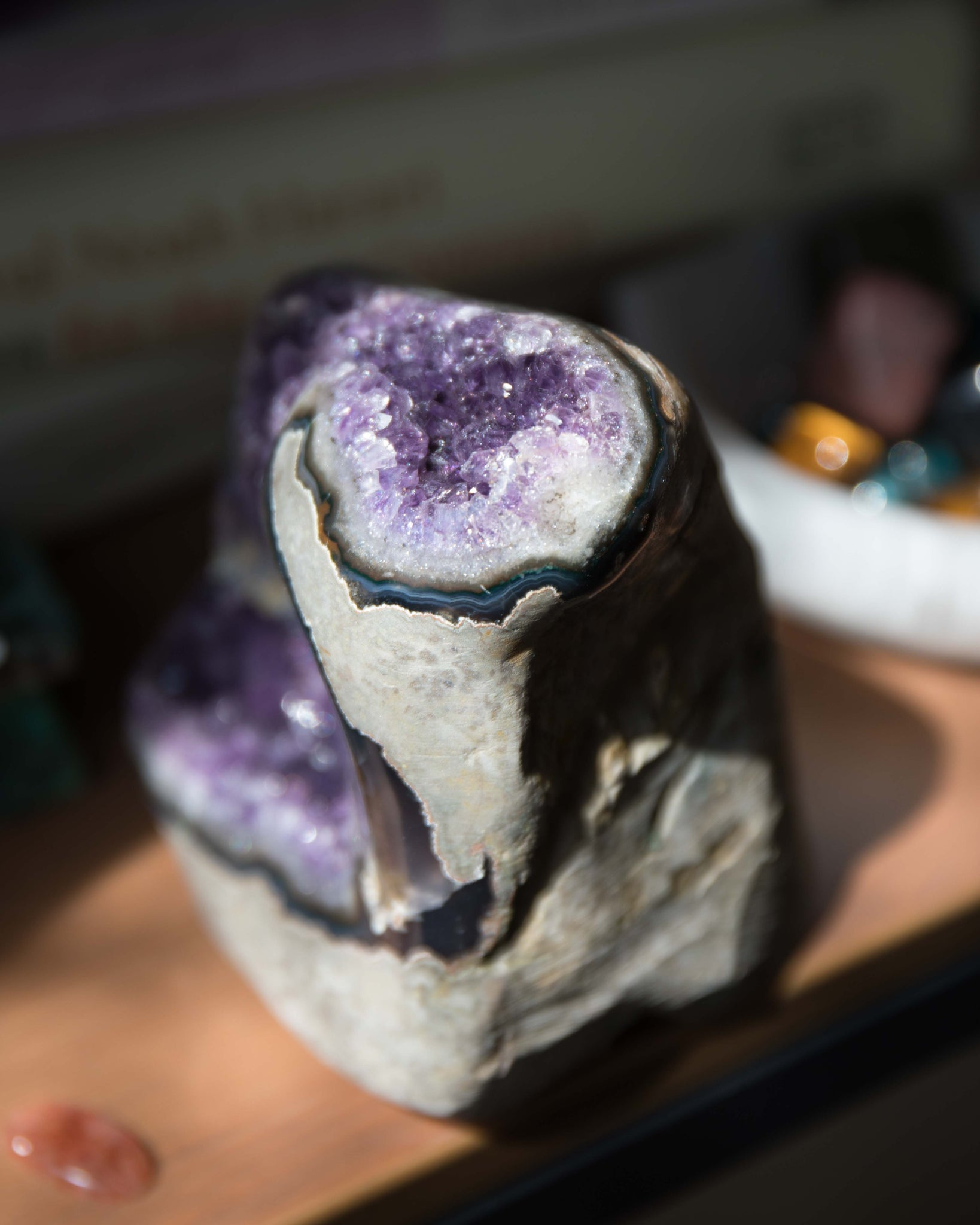 Natural Brazilian Amethyst - A