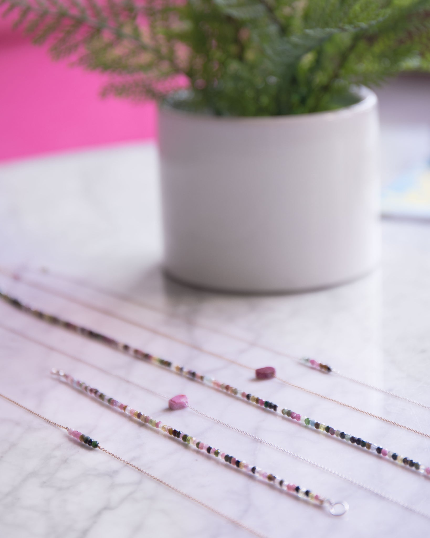Multicolored Tourmaline Necklace
