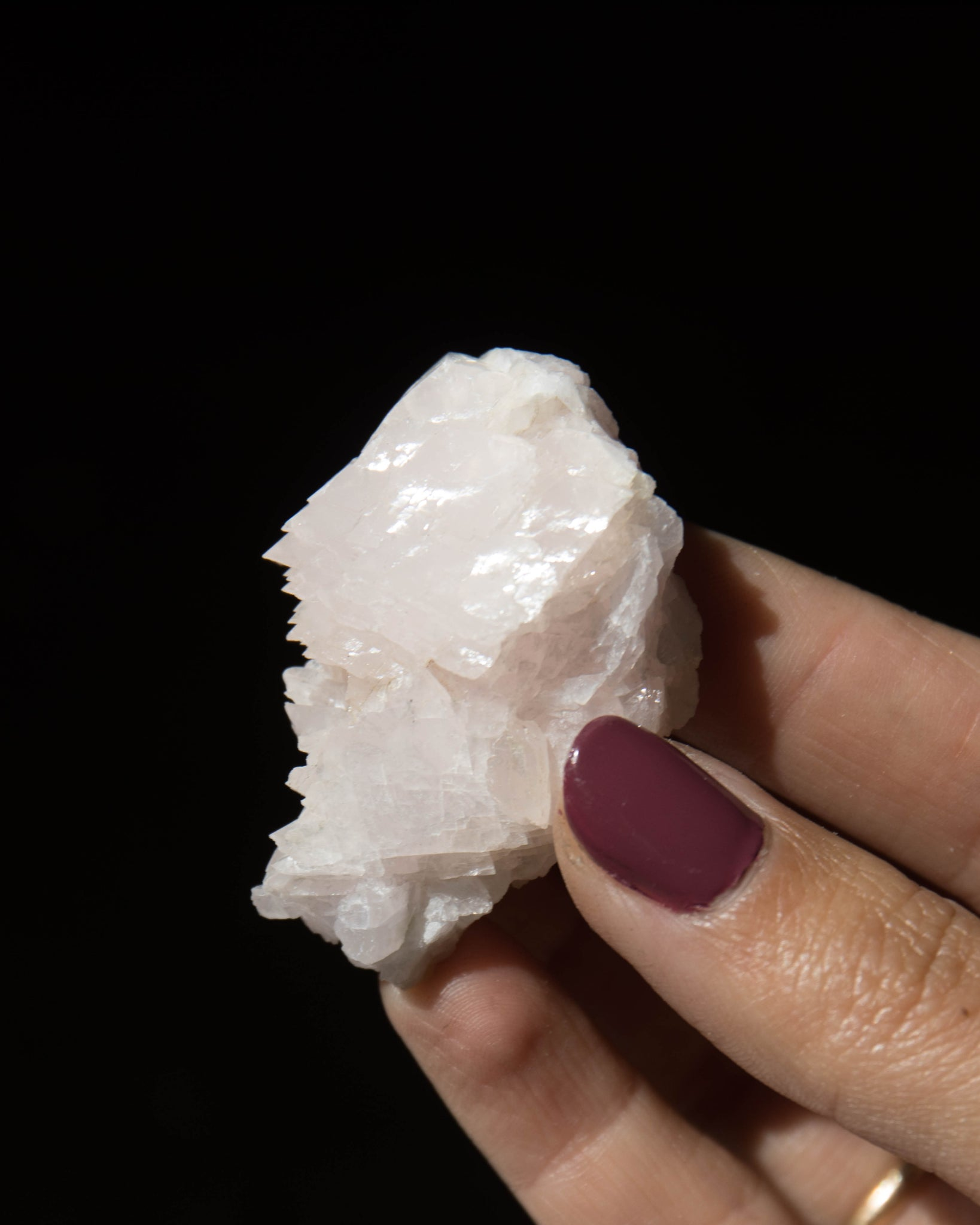 Small Crystalized Mangano Calcite