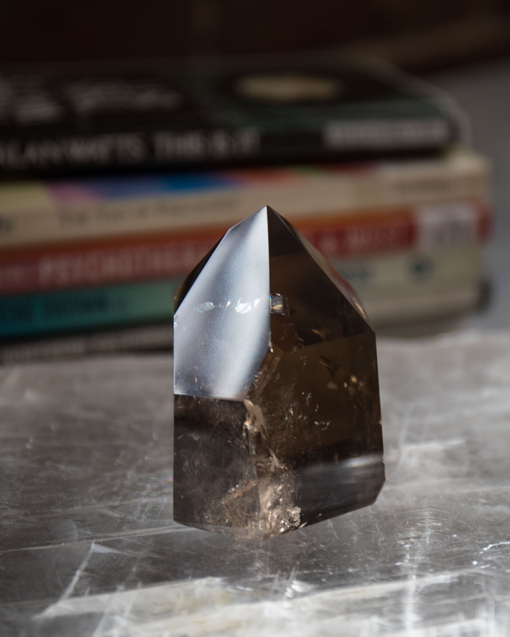 Natural Smokey Quartz Point B