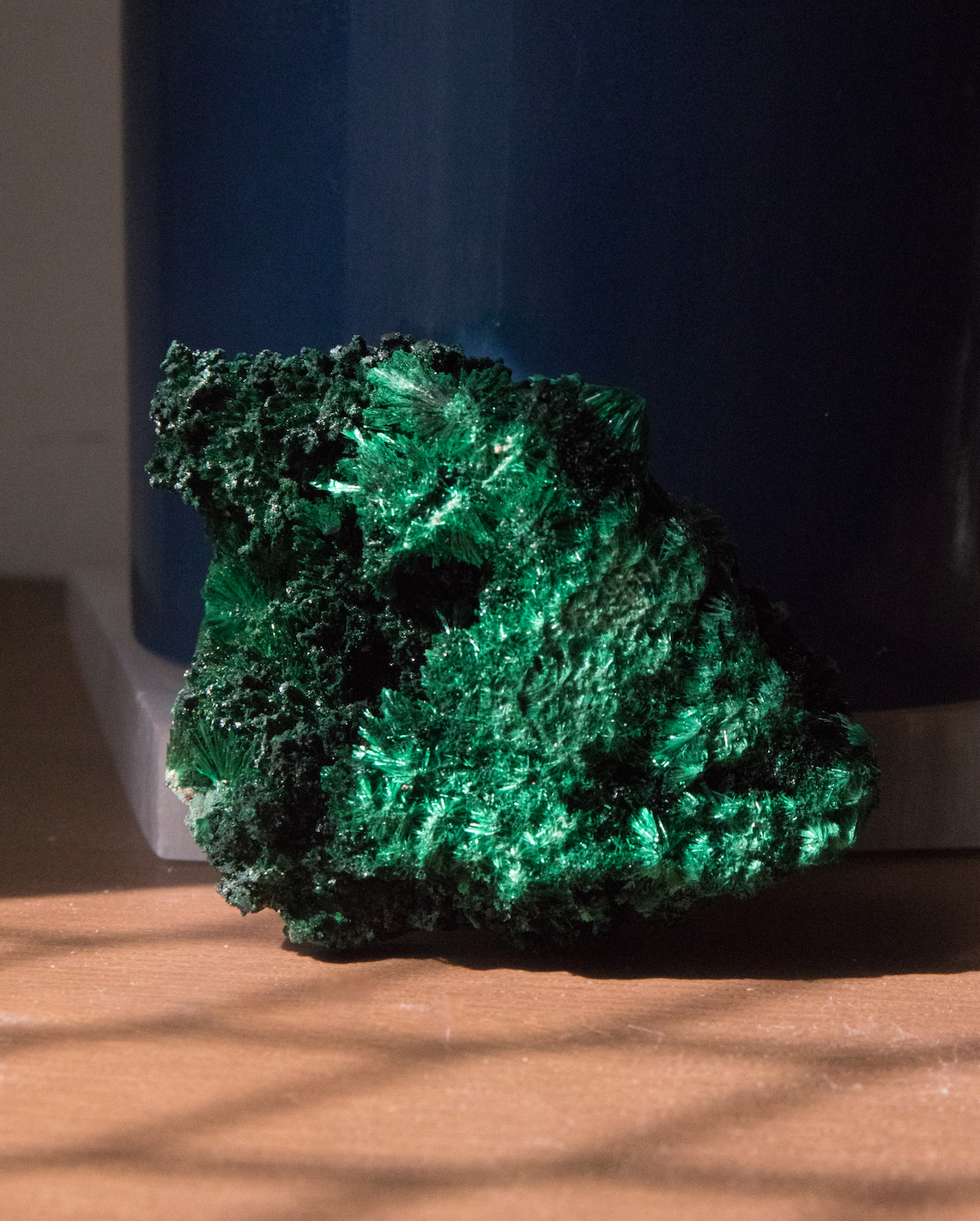 Raw Fibrous Malachite C