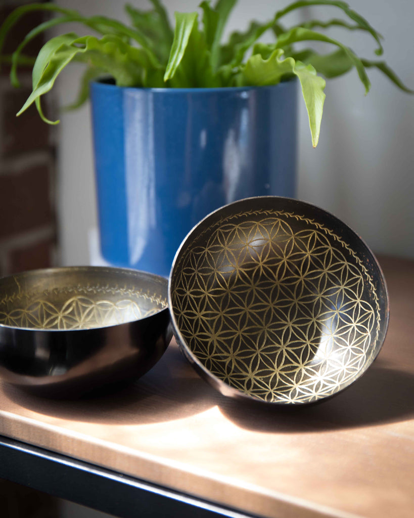 Flower of Life Offering Bowl
