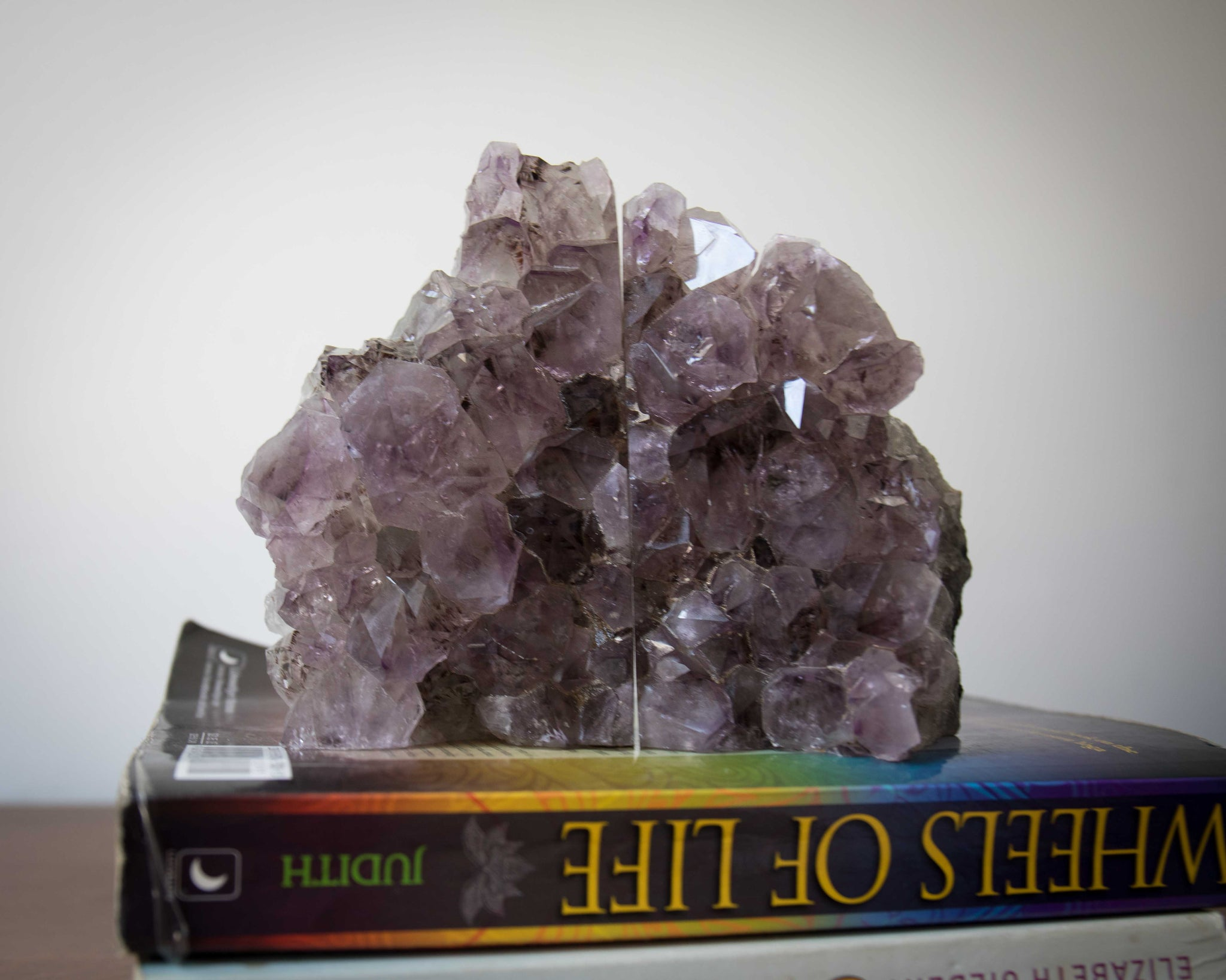 Amethyst Bookends