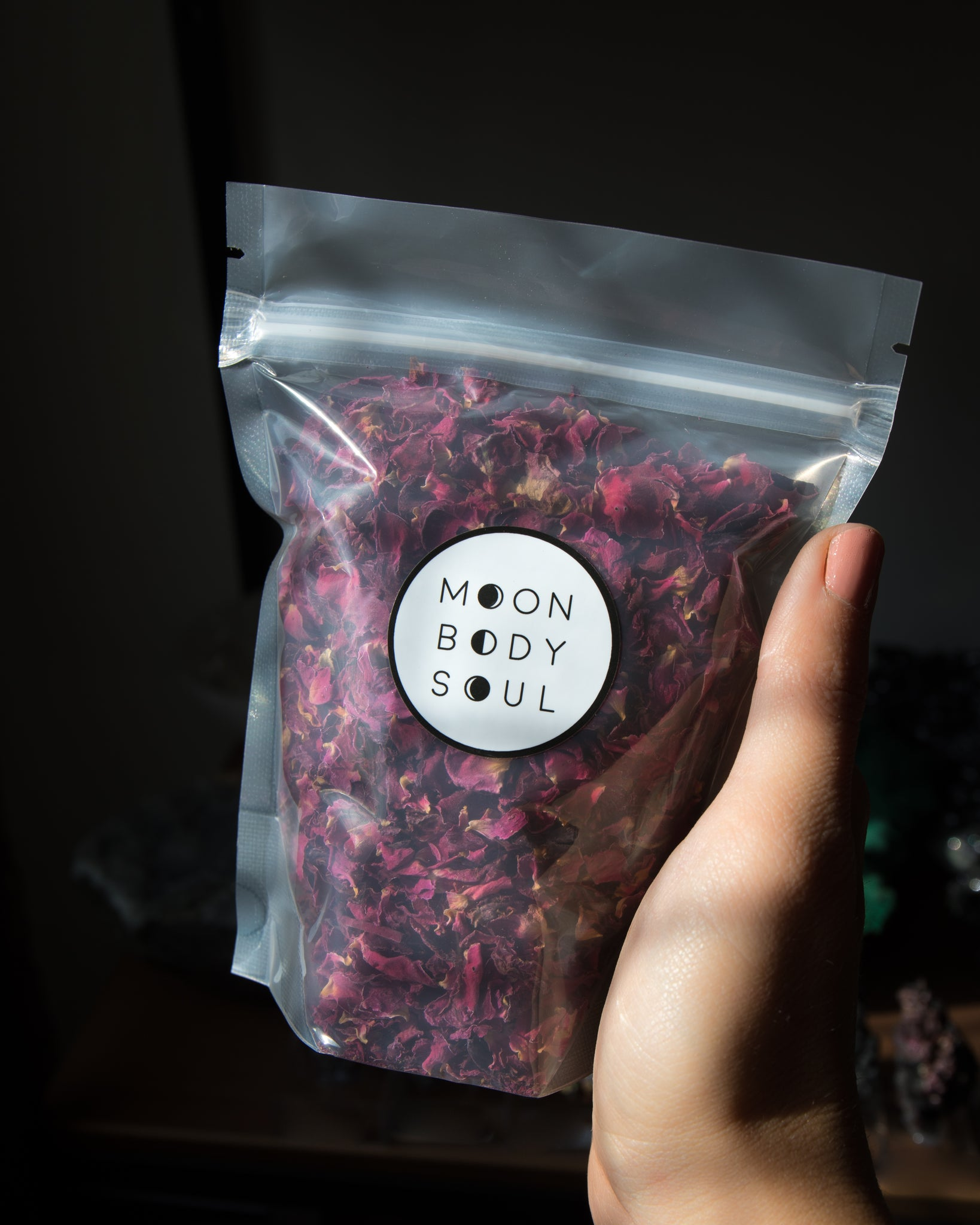 Organic Dried Rose Petals