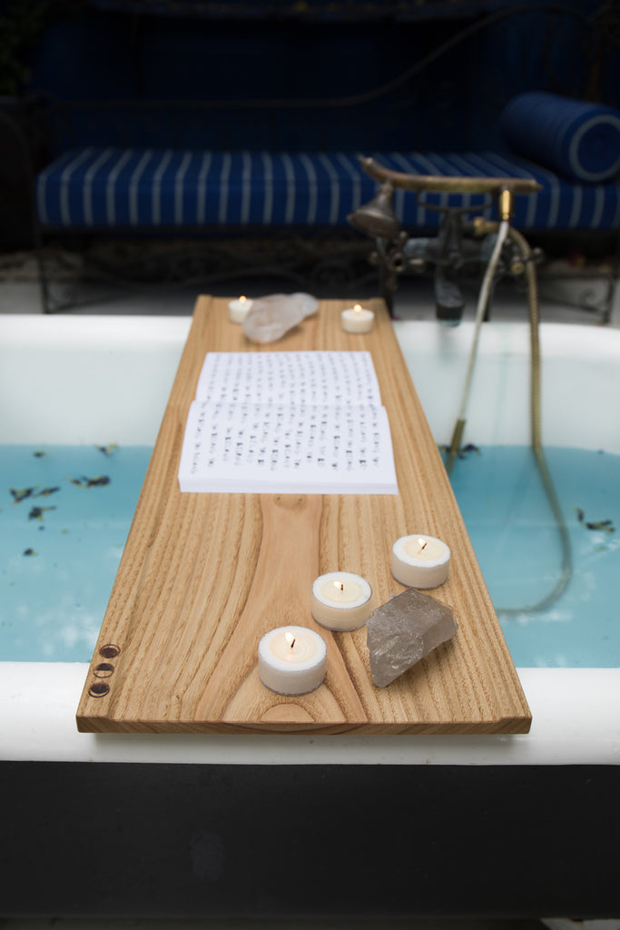 Handcrafted Bath Tray