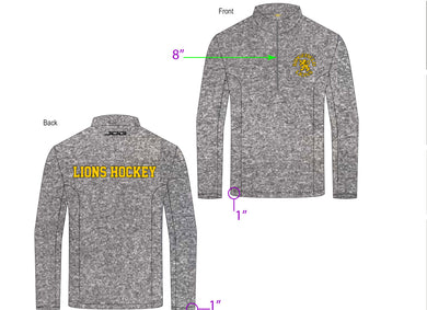 Jog 1/4 ZIP Pull Over