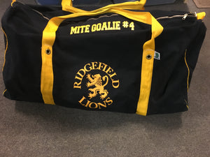 Lions Canvas Hockey Bag