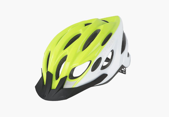 HELMET LIMAR SCRAMBLER WHITE YELLOW MEDIUM