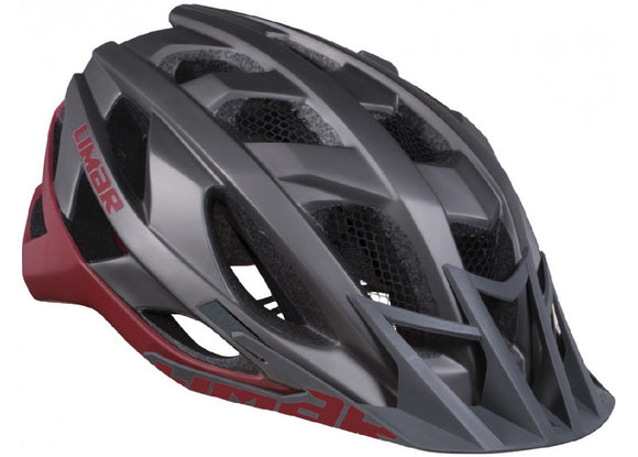 HELMET LIMAR MATT TITANIUM RED MEDIUM