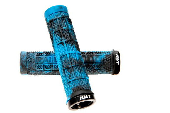 GRIP KWT BOSSA LOCK ON PRO GRIP BLACK/BLUE