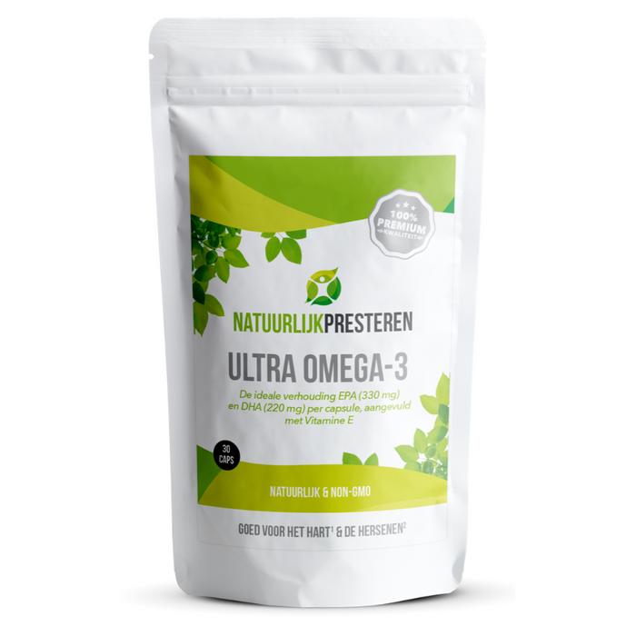 Ultra Omega-3 - Visolie supplement met hoge dosering EPA en DHA