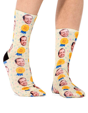 #1 Dad Socks