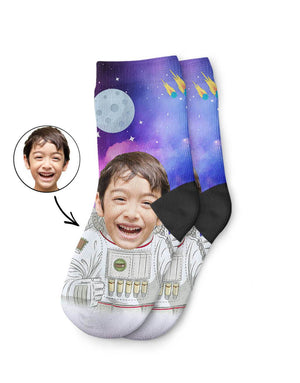 Astronaut Kids Socks