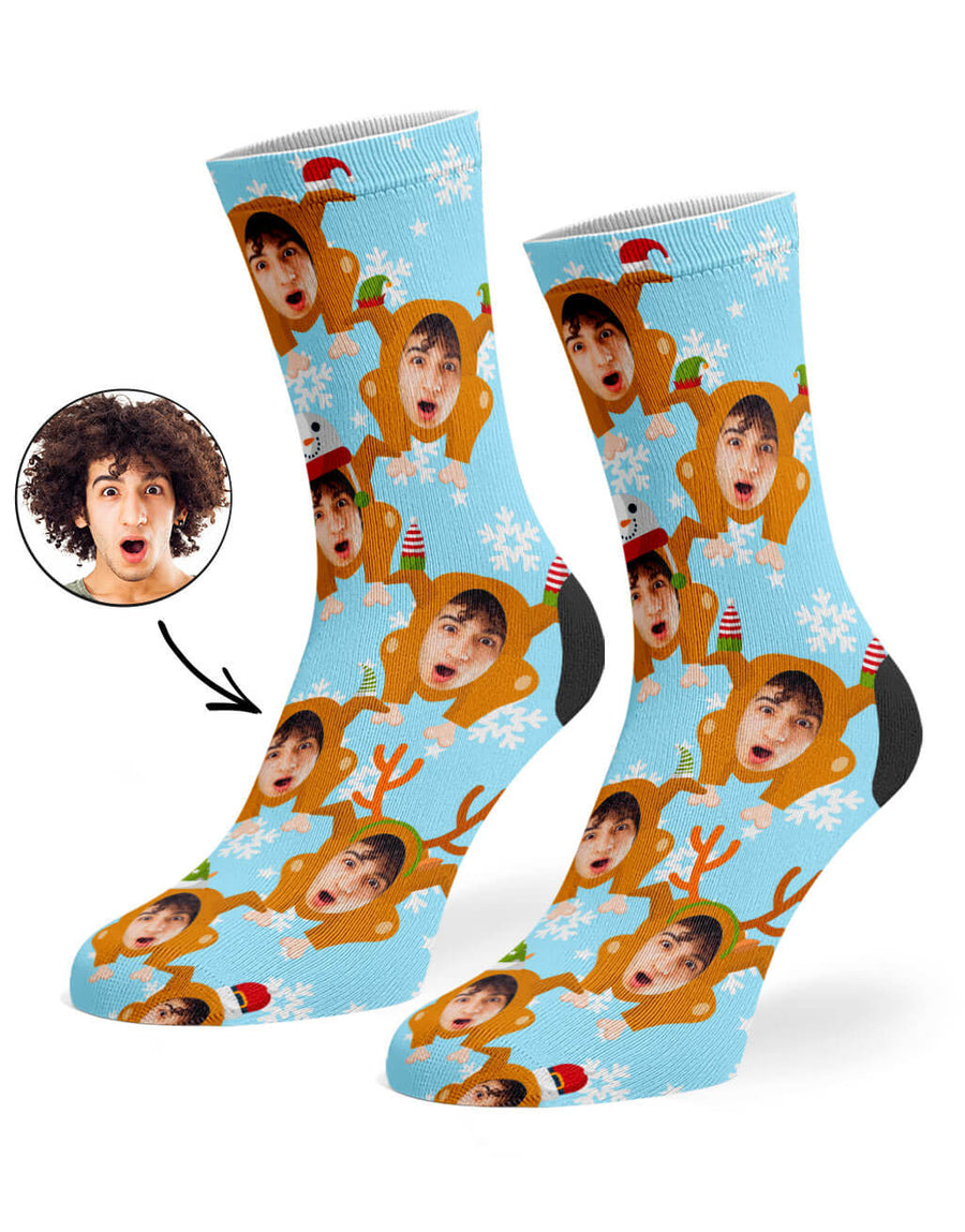 Christmas Turkey Socks