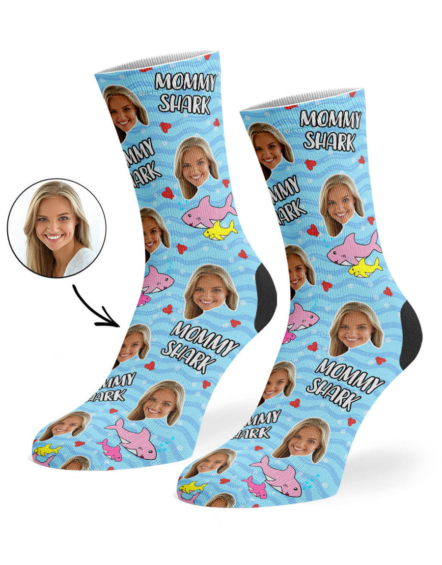 Mommy Shark Socks
