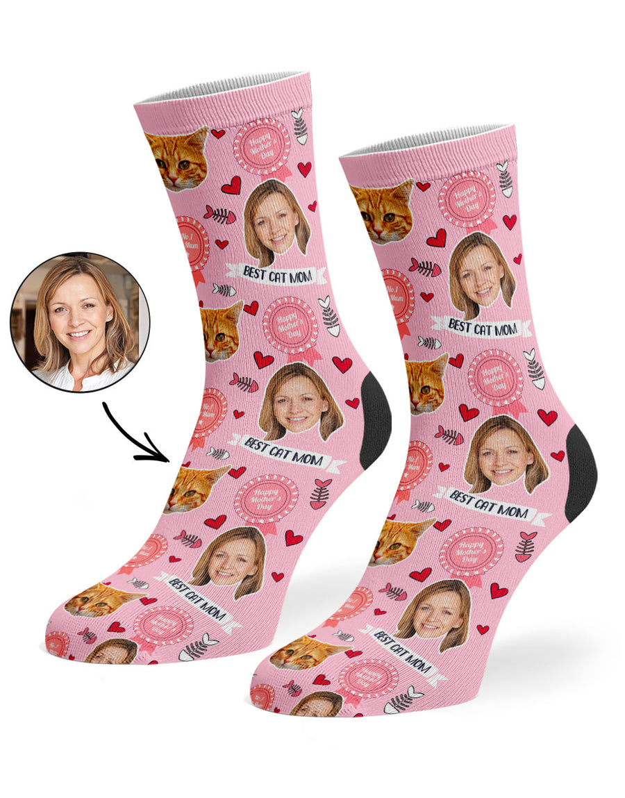 Best Cat Mom Socks