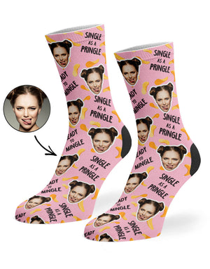 Single As A Pringle Socks