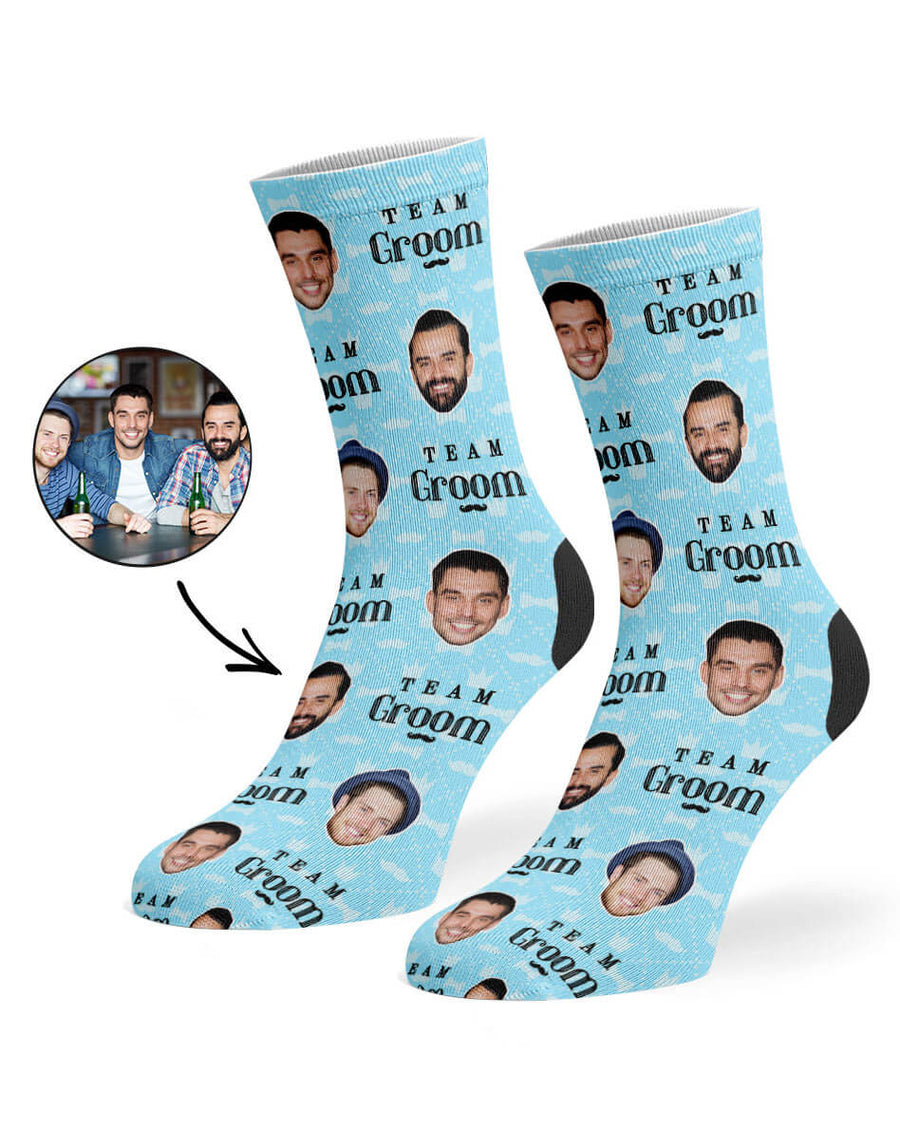 Team Groom Socks