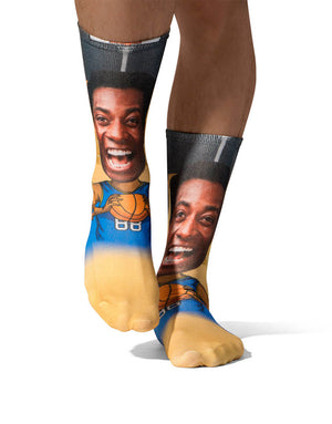 Basketball Player Socks