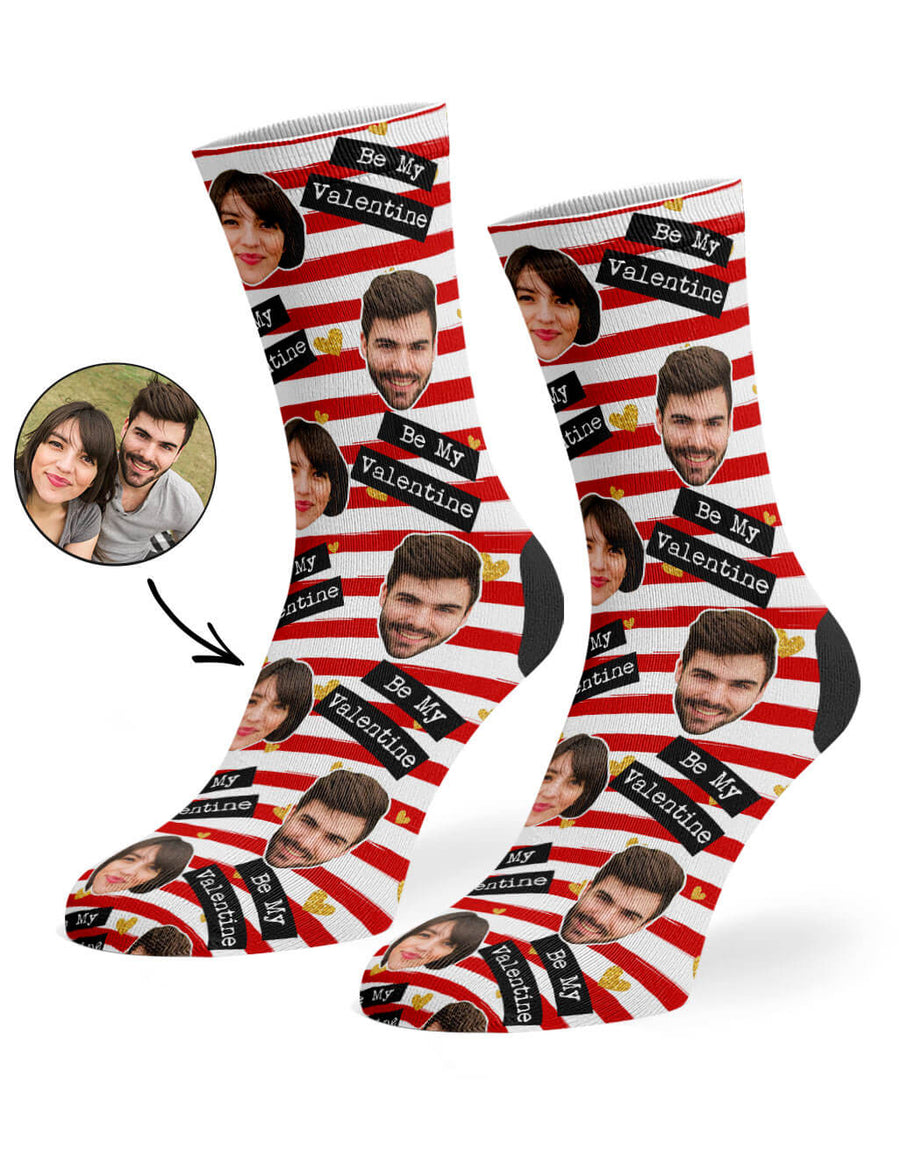 Be My Valentine Socks