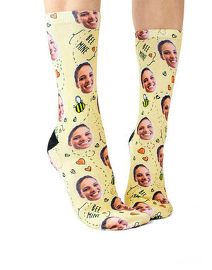 Bee Mine Socks