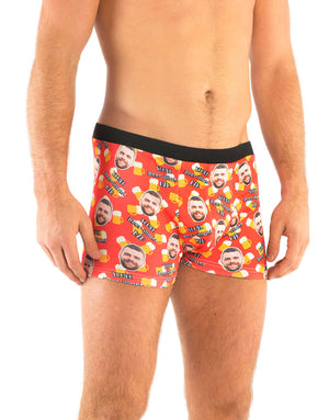 Beer-illiant Dad Boxers