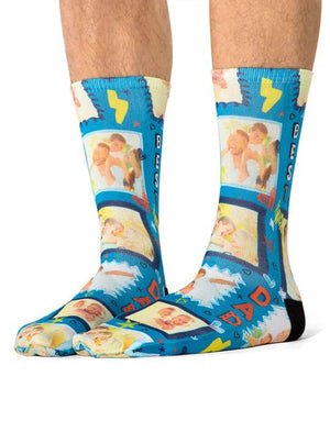 Best Dad Frame Socks