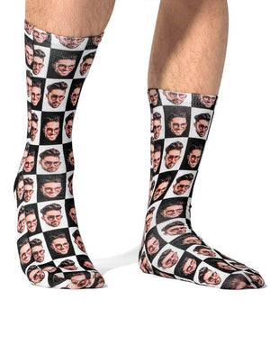 Poser Face Socks