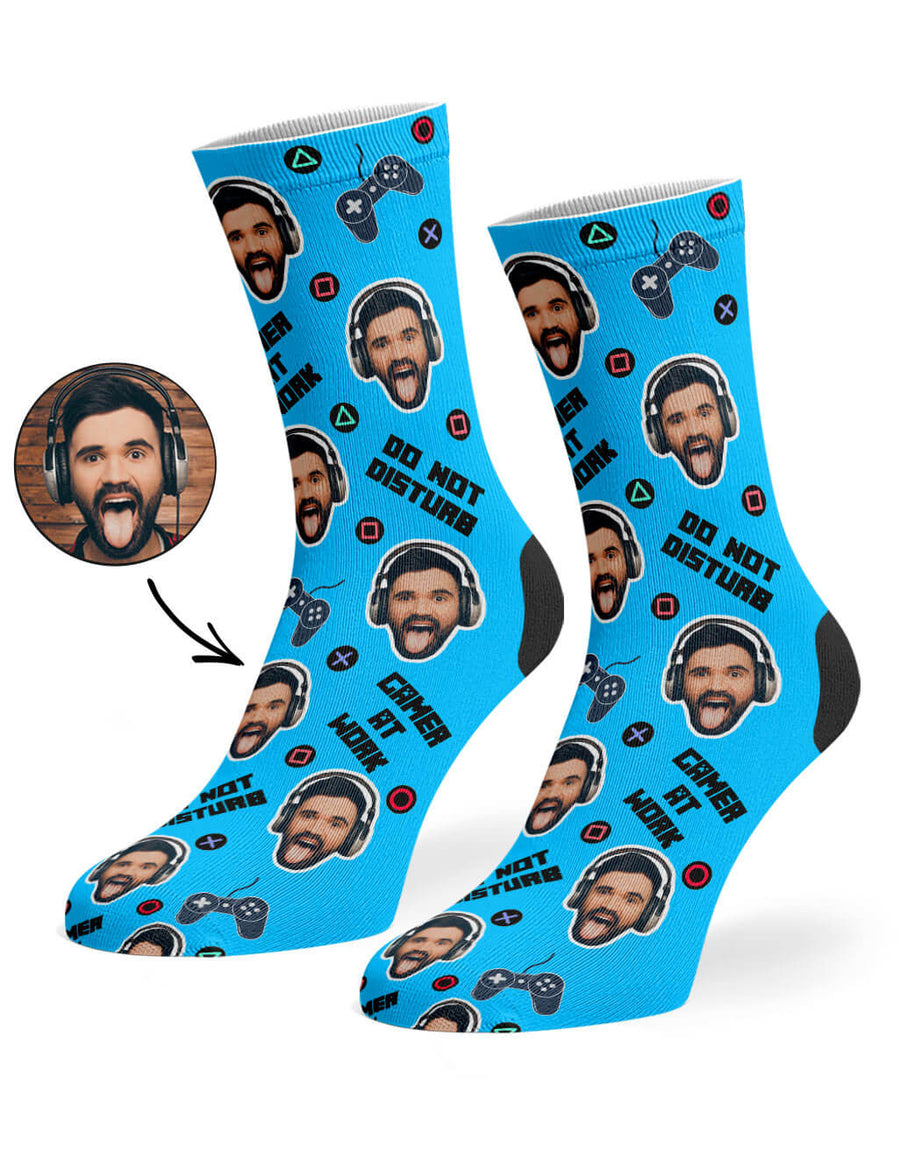 Gamer Face Socks