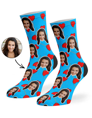Heart Lollipops Socks
