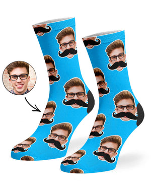 Moustache Me Socks