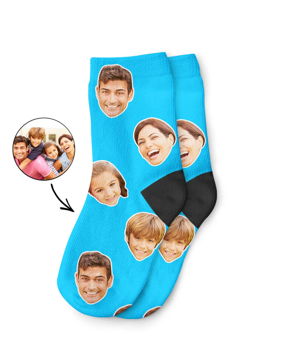 Your Family Face Kids Socks