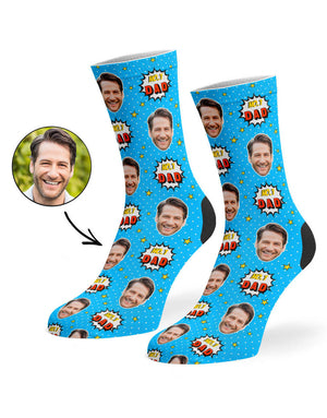 Number 1 Dad Socks
