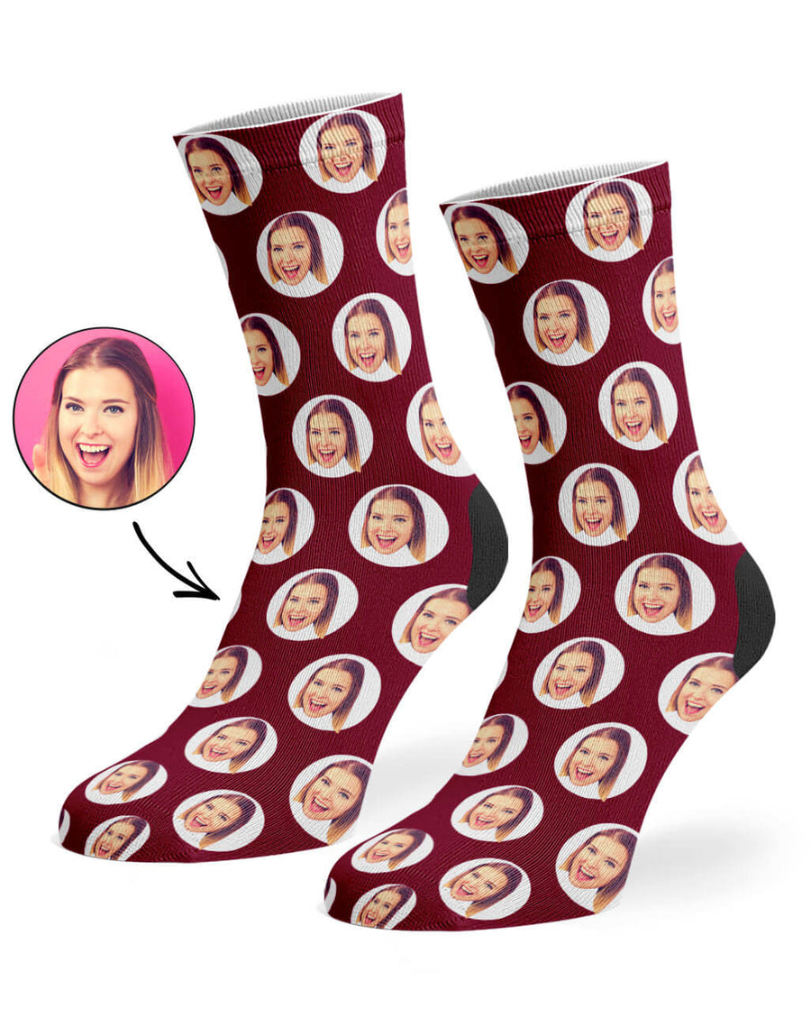 Polka Circle Socks