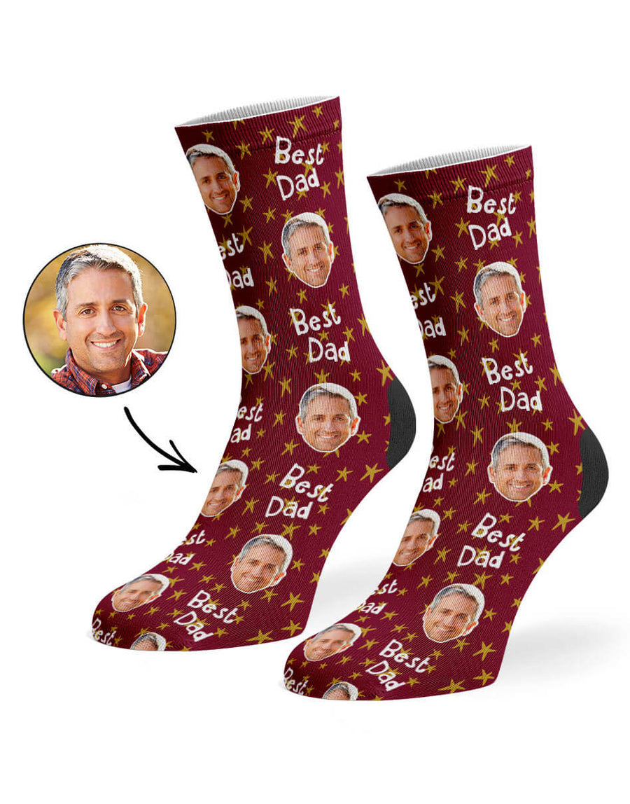 Best Star Dad Socks