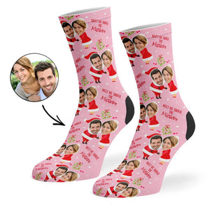 Mr & Mrs Claus Socks
