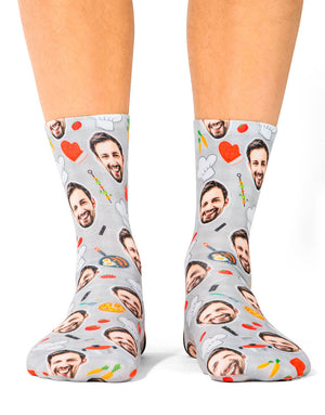 Chef Face Socks