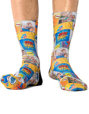 Super Comic Dad Socks