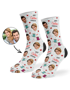 Cotton Anniversary Socks