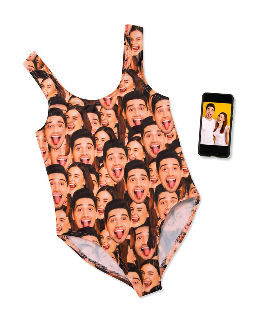 Face Mash Swimsuit