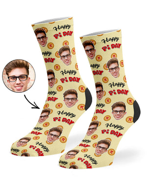 Happy Pi Day Socks