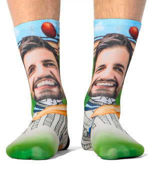 Cricket Player Socks