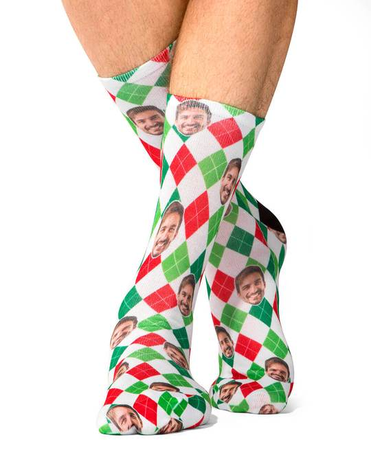 Christmas Diamond Socks