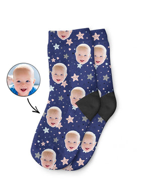 Cute Star Pattern Kids Socks