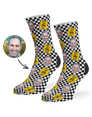 Taxi Dad Socks