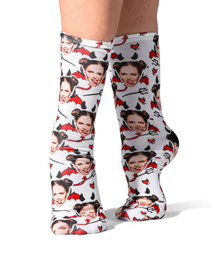 Devil Face Socks
